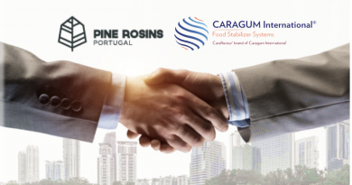 Caragum International ® announces that it has taken an equity stake in Kemi Pine Rosin Portugal, S.A.